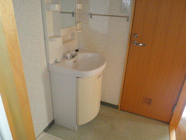 A-1Square 35号室の洗面所