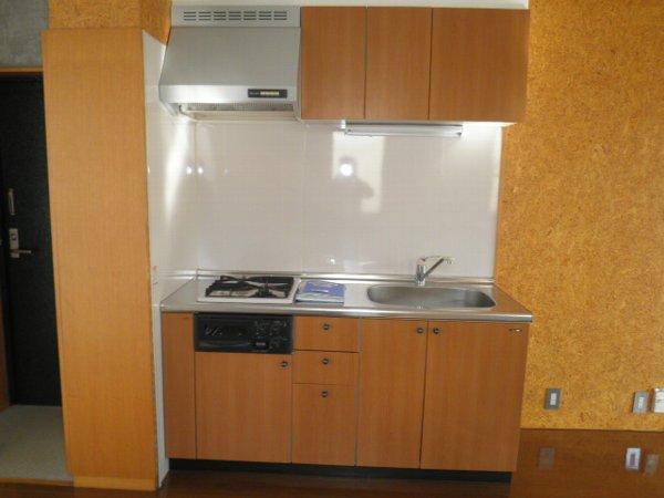 A-1Square 35号室のキッチン