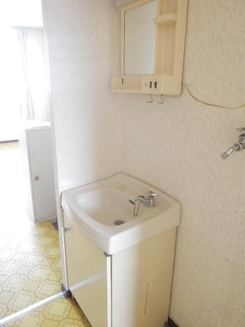 池嶋ハイツ 201号室の洗面所