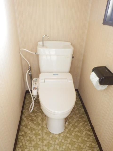 池嶋ハイツ 201号室のトイレ