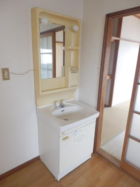 泉ハイツ 209号室の洗面所