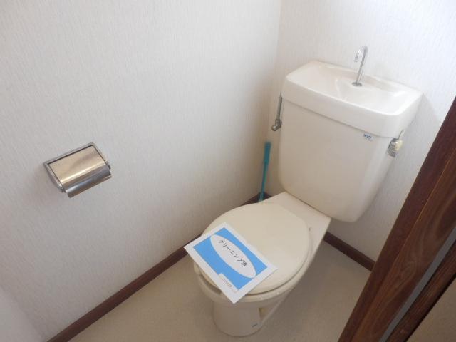 泉ハイツ 209号室のトイレ