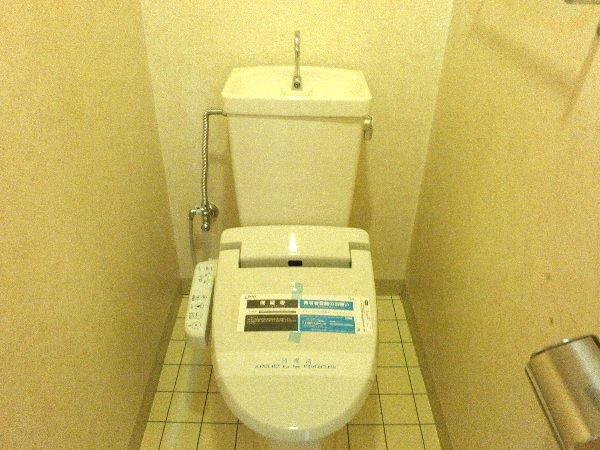 ウエキハイツ 604号室のトイレ