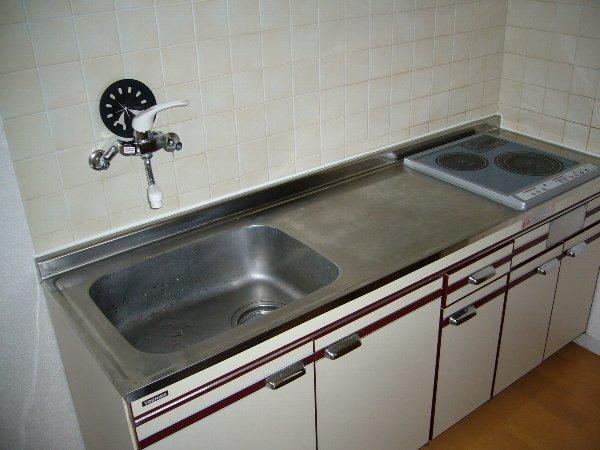 ウエキハイツ 503号室のキッチン