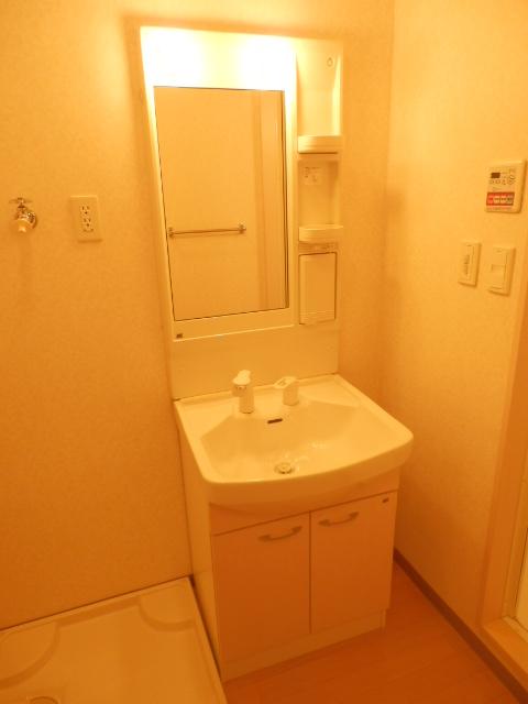 ルミエールユウ 205号室の洗面所