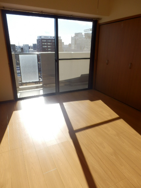 ウインズ杉 1002号室のベッドルーム