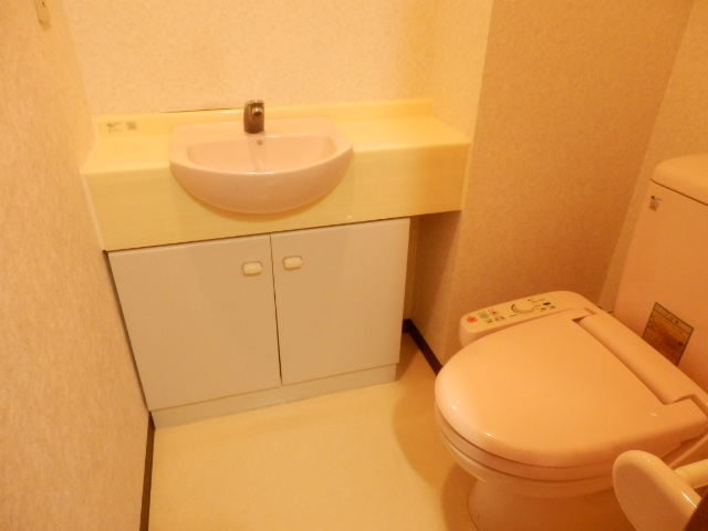 ウインズ杉 1002号室のトイレ