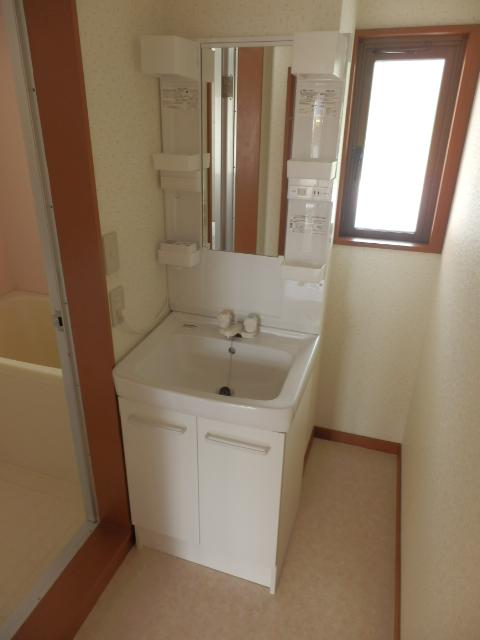 プラトー藤 101号室の洗面所