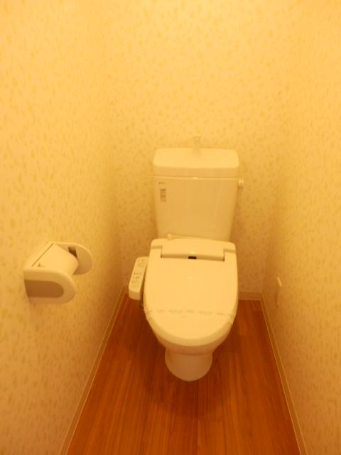 秋桜館・西原 102号室のトイレ