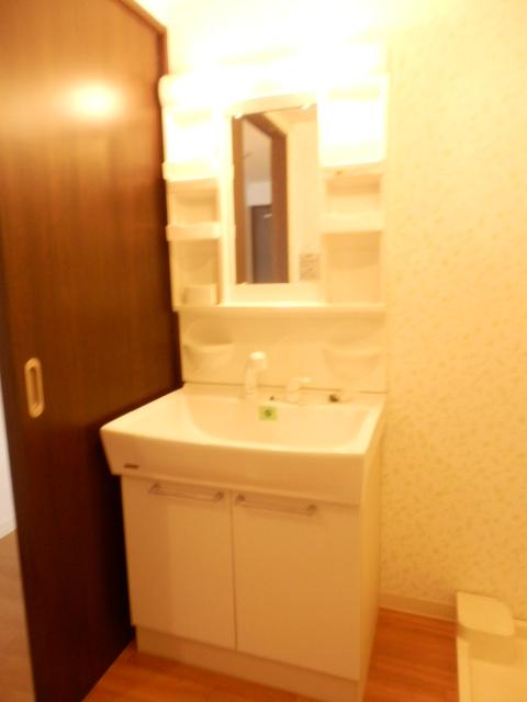 秋桜館・西原 102号室の洗面所