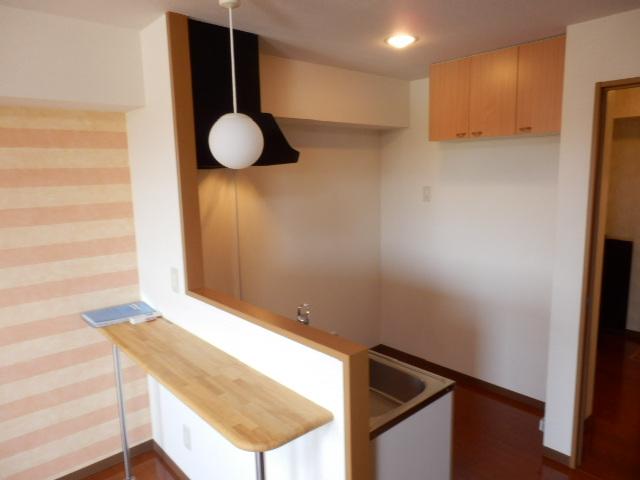 パピーガーデン 206号室のキッチン