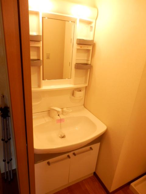 パピーガーデン 206号室の洗面所
