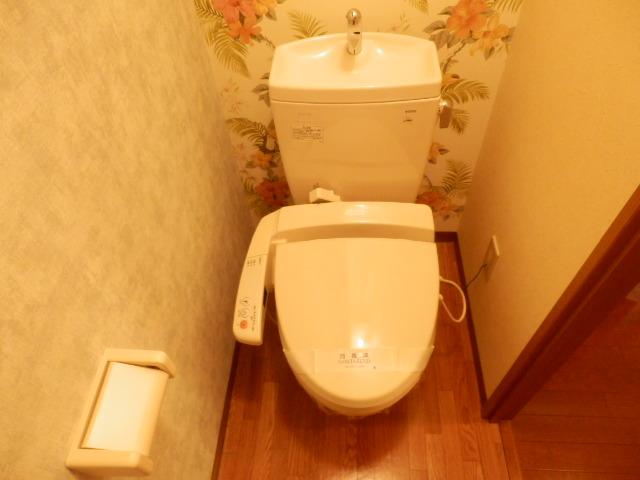パピーガーデン 206号室のトイレ