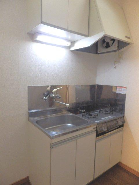 コーポM 205号室のキッチン