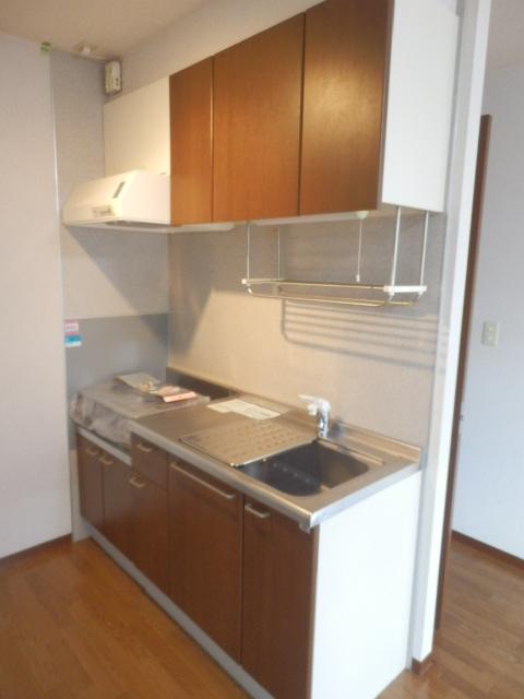 T.クレストA・Bハウス B202号室のキッチン