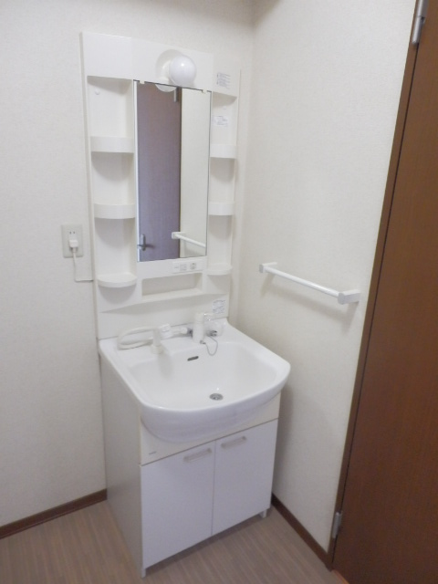 T.クレストA・Bハウス B202号室の洗面所