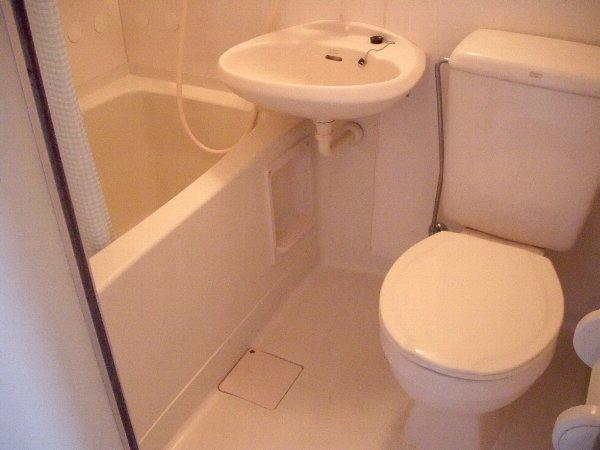 ウイングヴィラ 204号室のトイレ