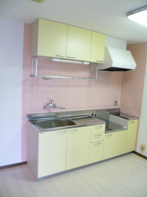 ヒルサイドテラス上溝 602号室のキッチン