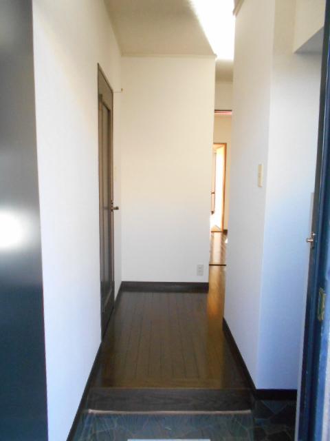 原第7マンション 207号室の玄関