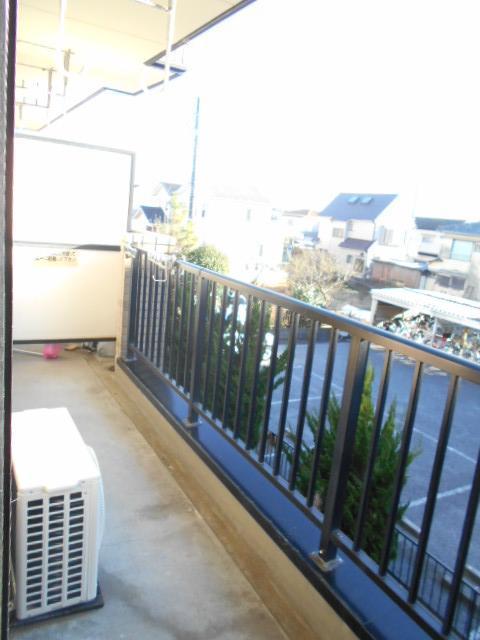 原第7マンション 207号室のバルコニー