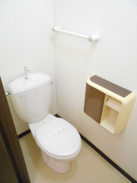 原第7マンション 207号室のトイレ