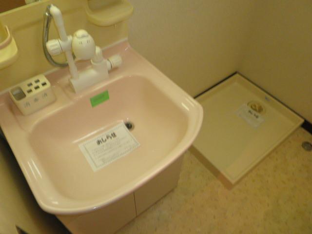 原第6マンション 205号室の洗面所