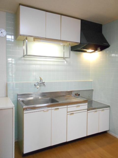 原第3マンション 107号室のキッチン