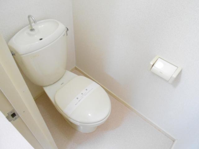 原第3マンション 107号室のトイレ