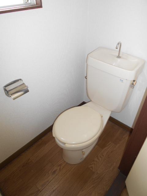 メゾン福嶋 2F号室のトイレ