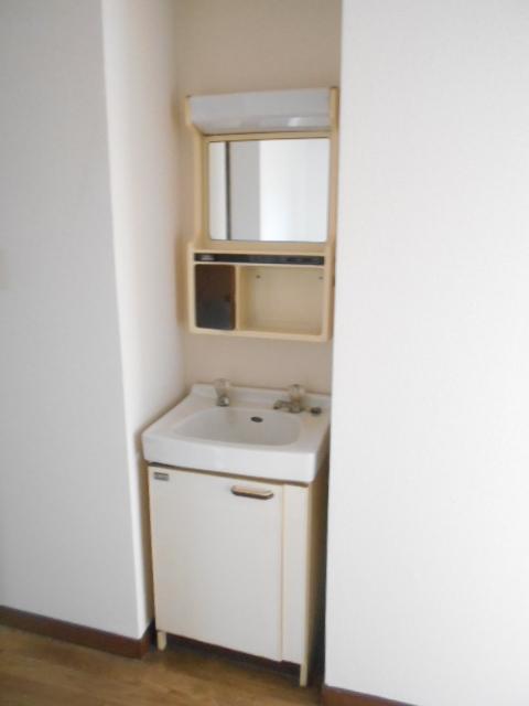 メゾン福嶋 2F号室の洗面所