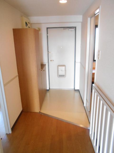 ヴィラコンプレール B506号室の玄関