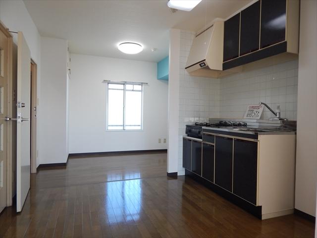 クレセント南春日部 401号室のキッチン