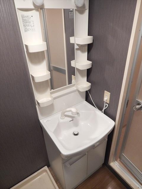 クレセント南春日部 401号室の洗面所