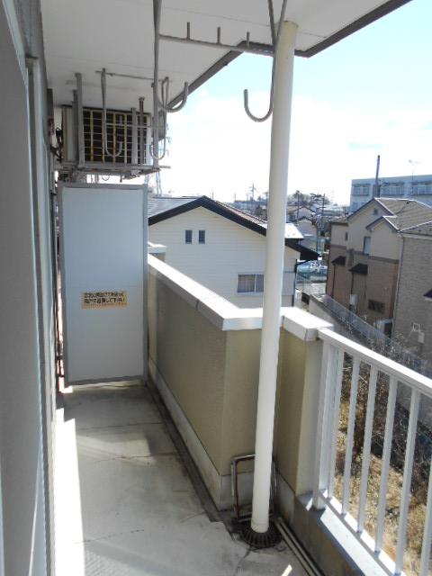 清水ハイツA 303号室のバルコニー