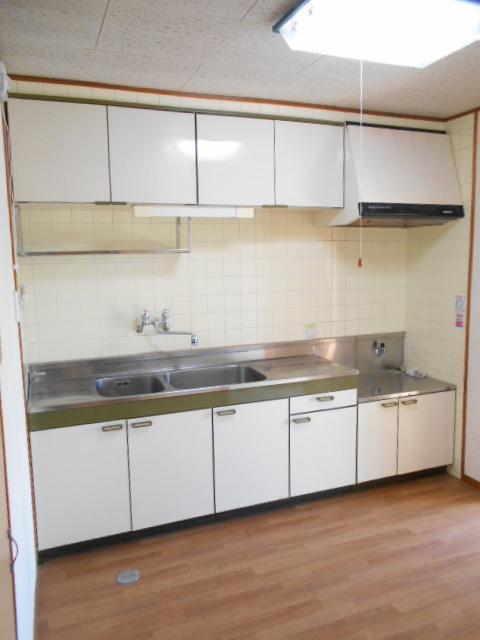 清水ハイツA 303号室のキッチン