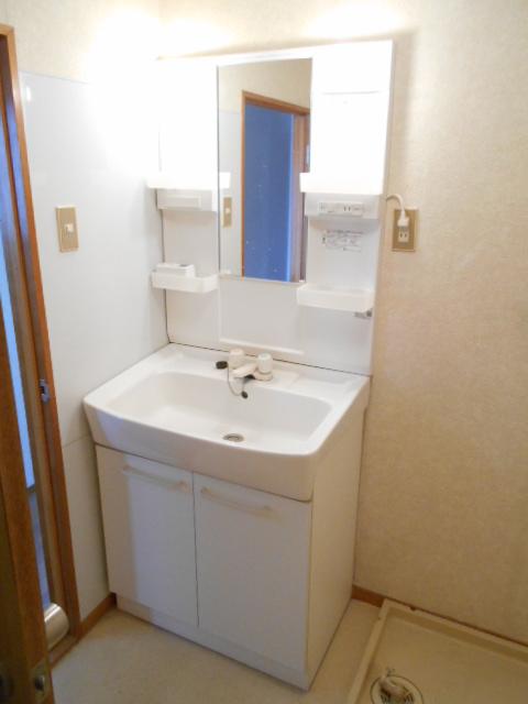 清水ハイツA 303号室の洗面所