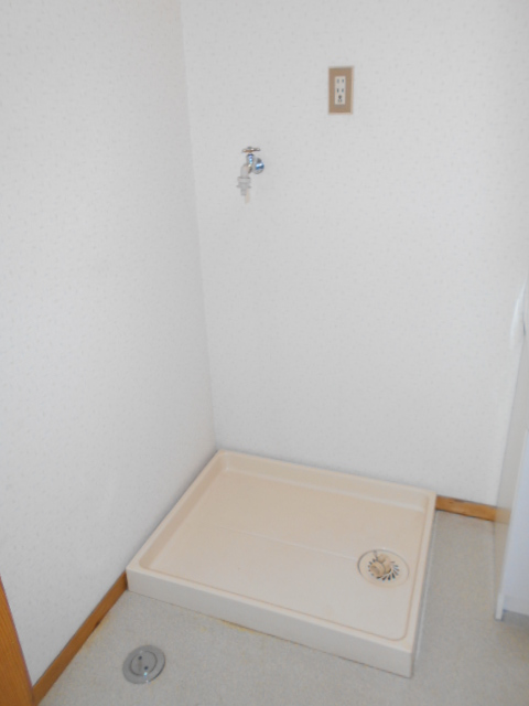清水ハイツB 208号室の洗面所