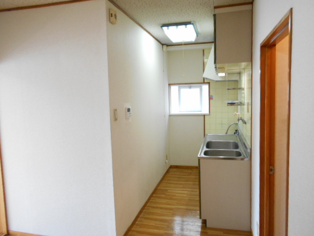 清水ハイツB 208号室のキッチン