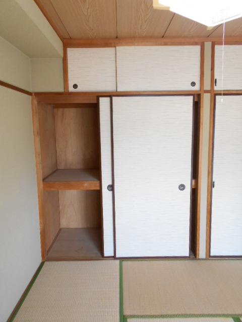 清水ハイツB 208号室の収納
