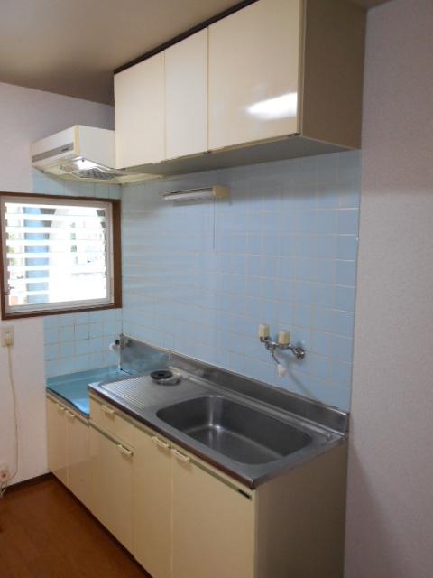 ロイヤルハイツ杉山 105号室のキッチン