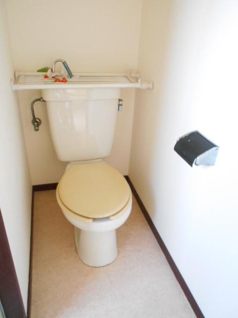 コブチコーポ 202号室のトイレ