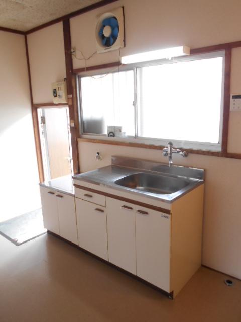 第2高橋アパ-ト 101号室のキッチン