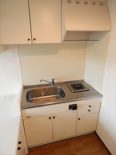 ベルピア姫宮第1 205号室のキッチン