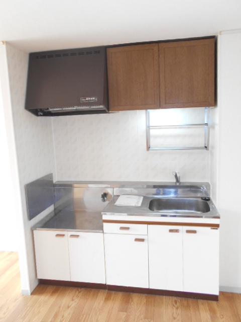 メゾンセピアC 201号室のキッチン