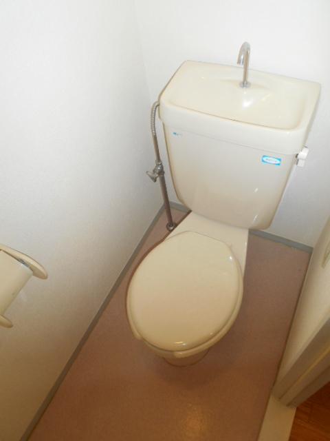 メゾンセピアC 201号室のトイレ