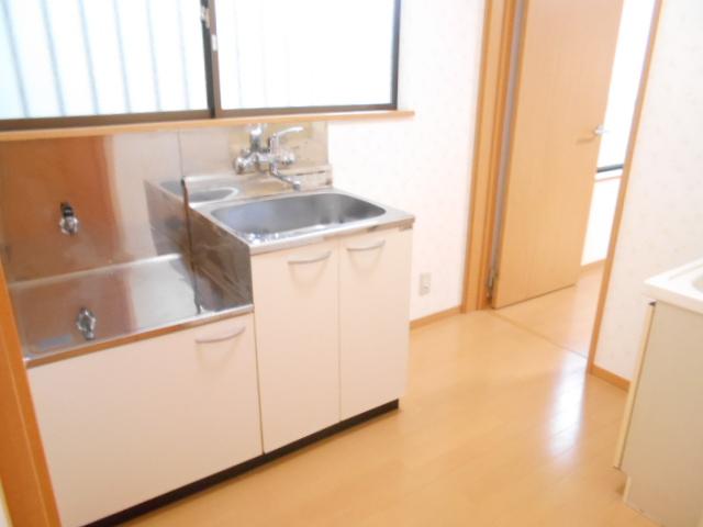 ハイツラフォーレ 201号室のキッチン