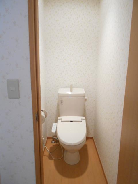 ハイツラフォーレ 201号室のトイレ