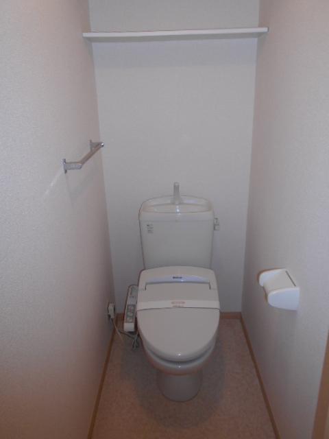 ディアコートA 102号室のトイレ