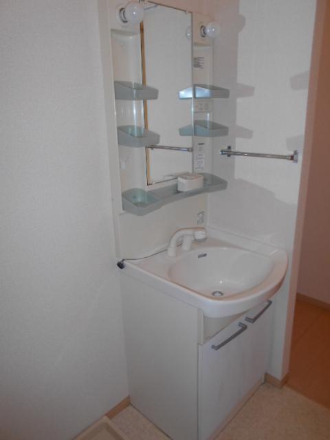ディアコートA 102号室の洗面所