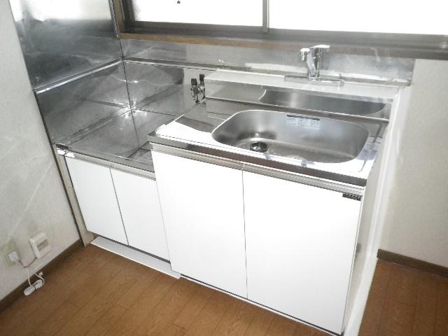 利根川住宅七番街 201号室のキッチン